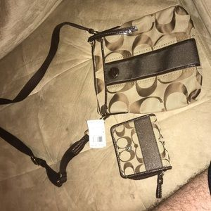 Coach Crossbody with Small Wallet